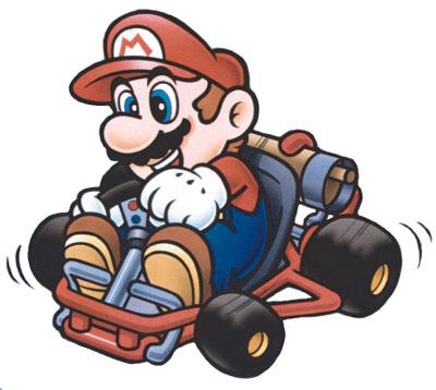 mario au karting