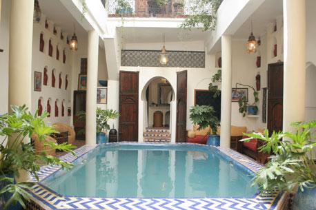 Riad marrakech destination romantique souhait - Maison riad marrakech ...