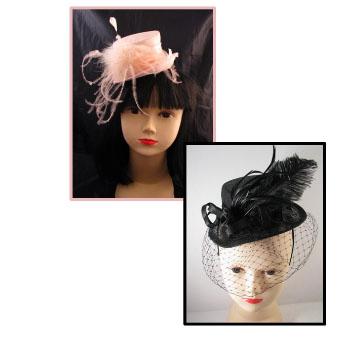 mini chapeau mariage
