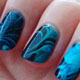 Le water marble, le nail art tendance de l'été