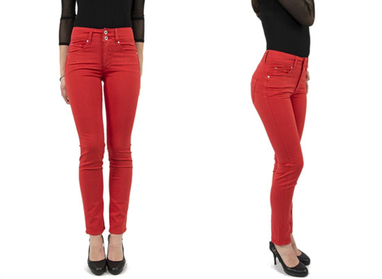 Pantalon salsa rouge