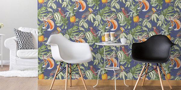 papier peint végétation Chantemur