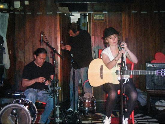 Pauline Paris en concert