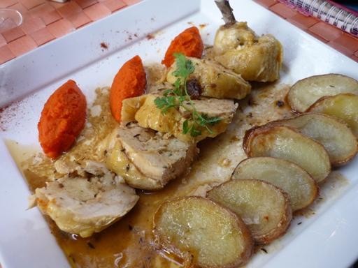 plat - suprême de poulet