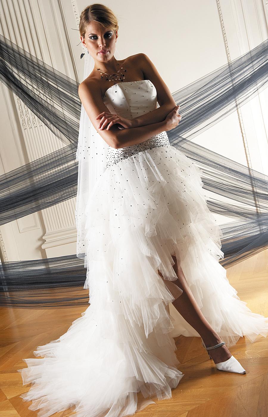 Robe Pronuptia froufrou mariage
