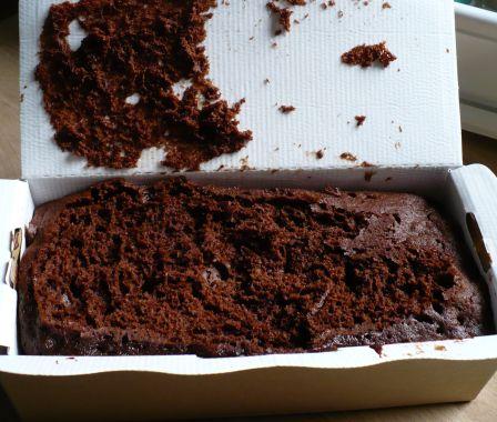 Gâteau après cuisson