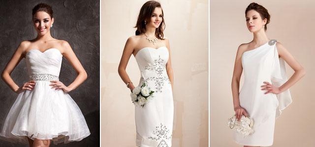 Choisir une robe de mari e comment trouver la robe for Robe courte pour la noce