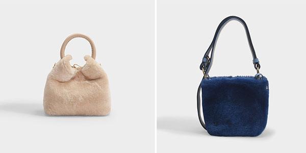 sac de luxe shearling