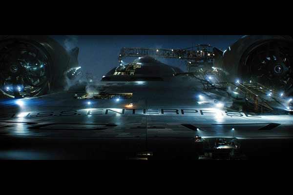 Star Trek Kirk et Spock vaisseau