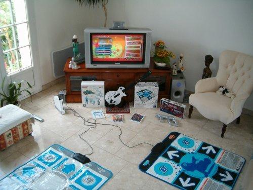 Le tapis de danse de la Wii