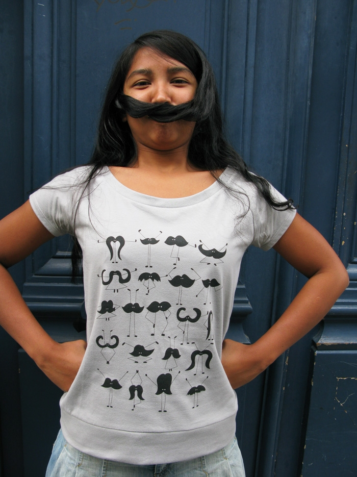 tshirt-bio-equitable-gris-moustache-monsieur-poulet