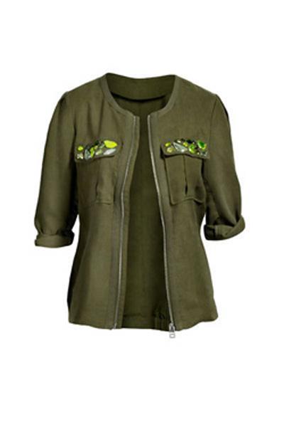 Le vert kaki la couleur phare du printemps t for Quelle couleur associer au vert