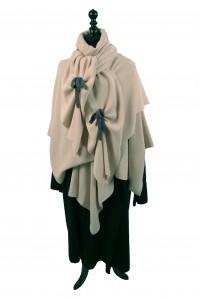 veste echarpe echarpe avec noeuds