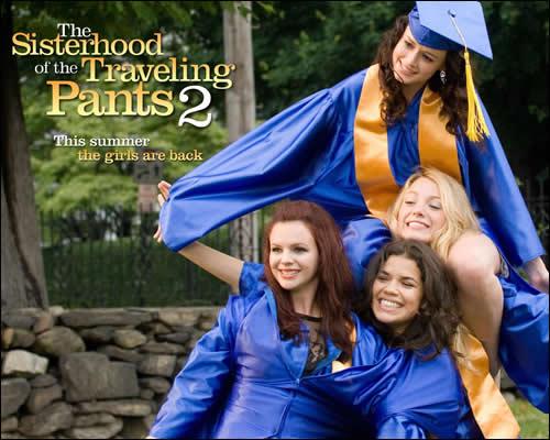 Quatre filles et un jean à l'université